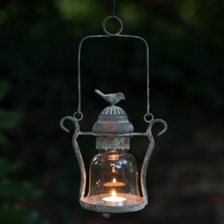 _Little Love Bird Candle Lantern