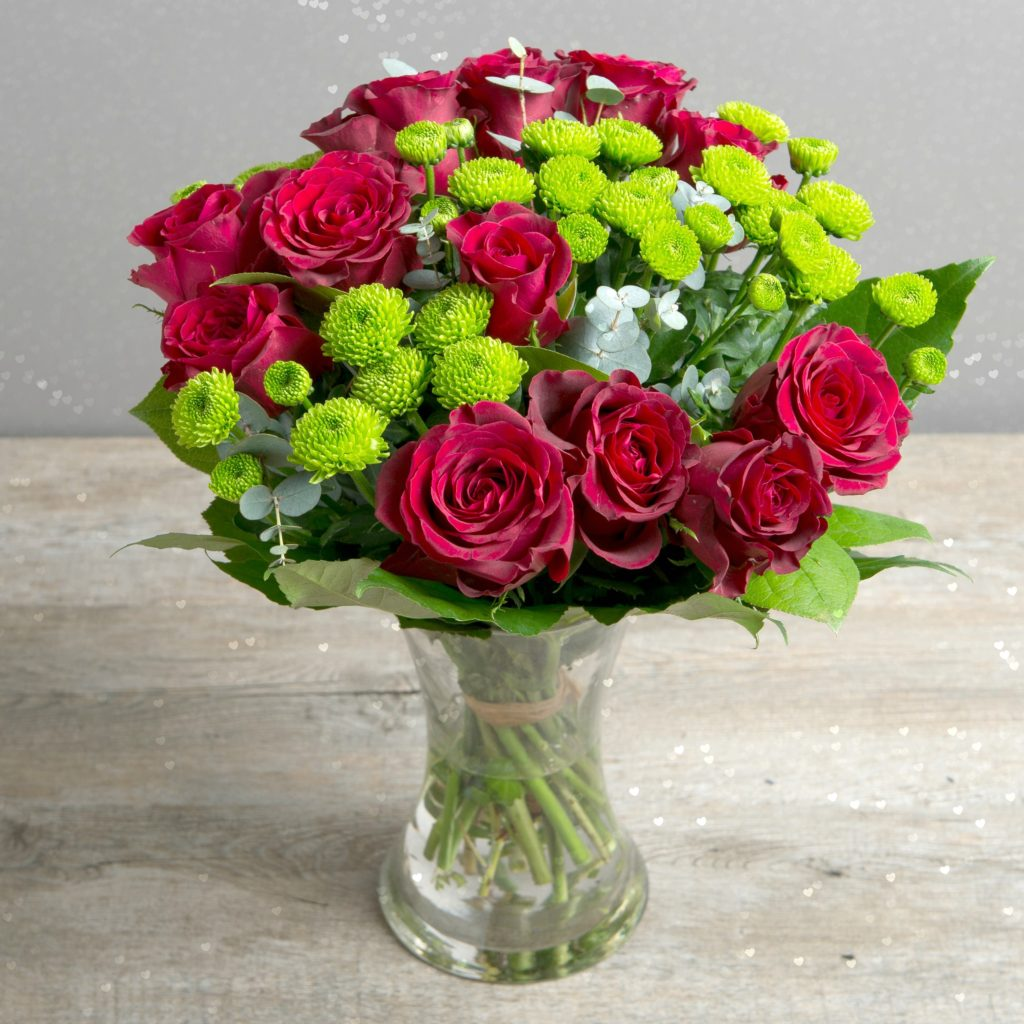 TRUE ROMANCE RED ROSE VALENTINE BOUQUET