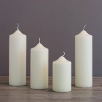TRADITIONAL CHAPEL CANDLES VARIOUS SIZES