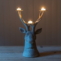 _Garden Stag Head Candle