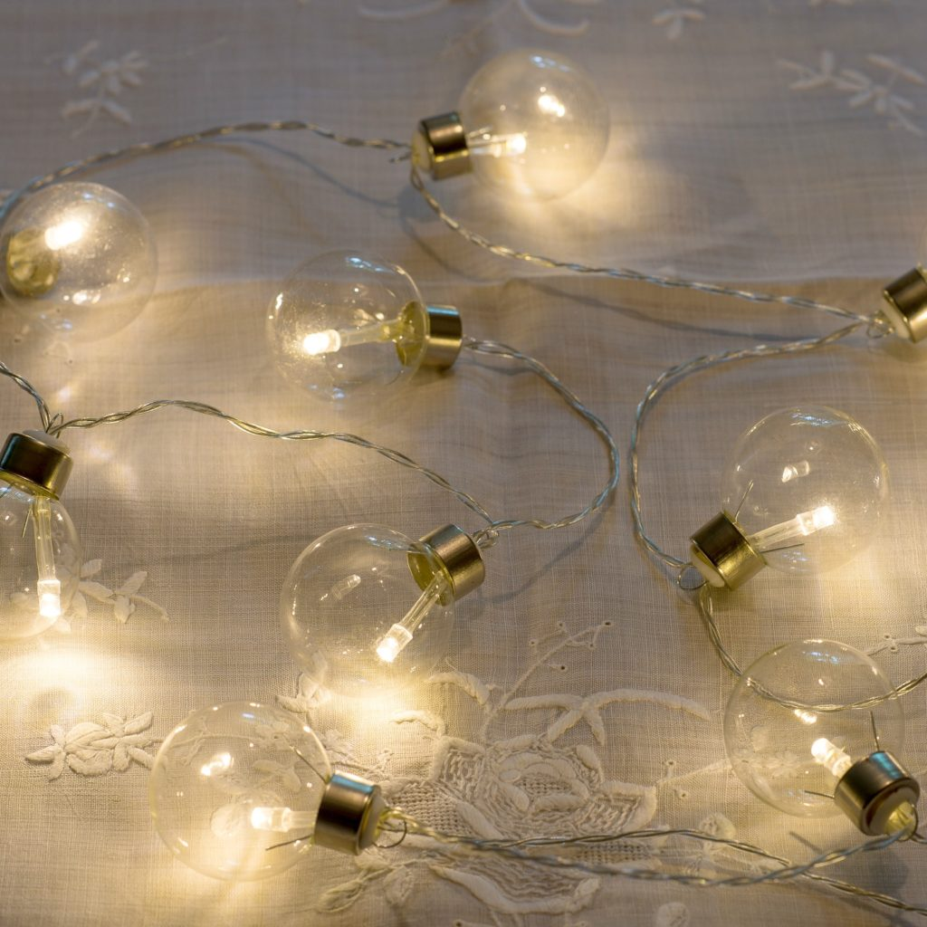 LIGHT BULB MOMENTS FESTIVE STRING LIGHTS