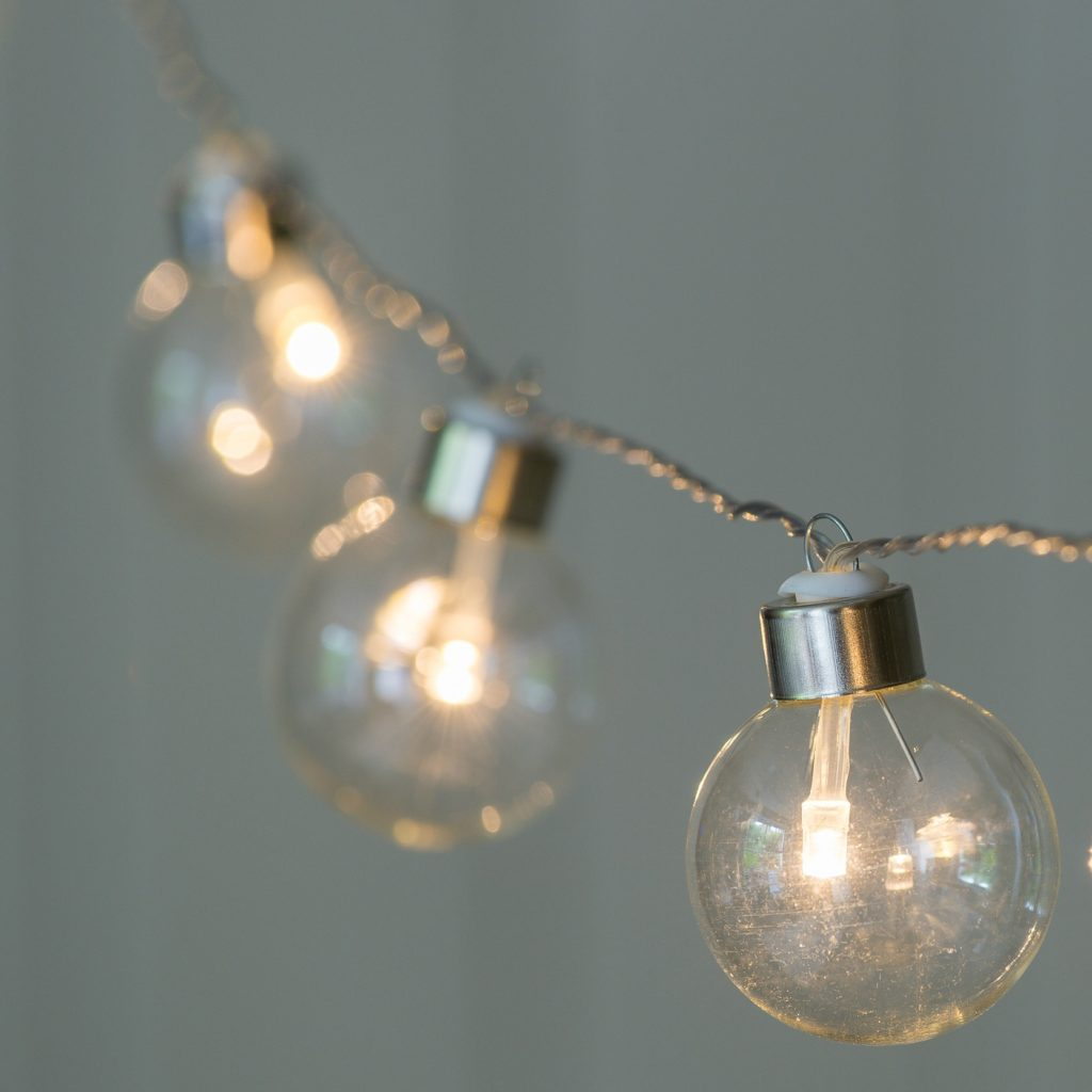 LIGHT BULB MOMENTS GARLAND