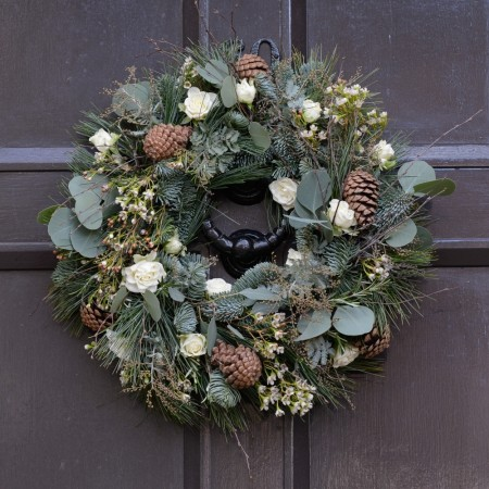 Wild Hedgerow Festive Door Wreath