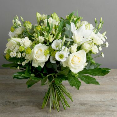 THINKING OF YOU WHITE BLOOM BOUQUET