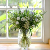 lilac luxury wild flower bouquet