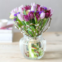 spring-pink-tulip-pussy-willow-flower-posy