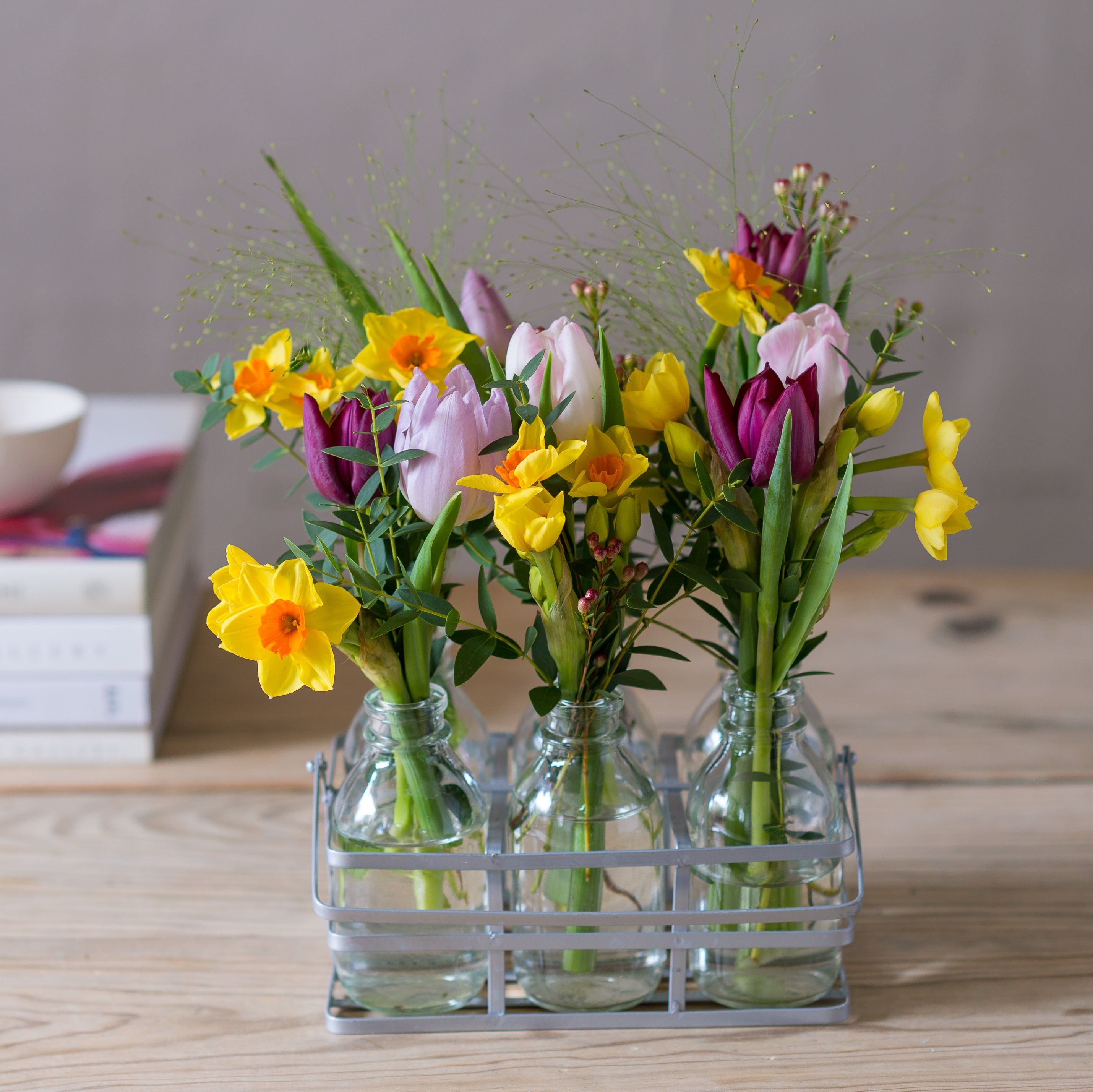 Styling Bottled Blooms