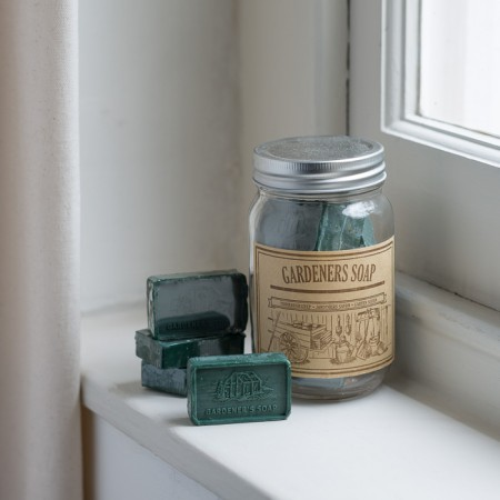 _vintage jar of gardeners soap