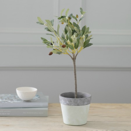 ARTIFICIAL OLIVE 40CM TREE PLANT