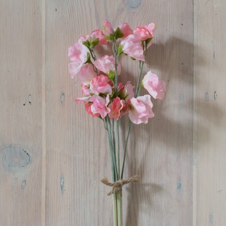 SILK VINTAGE PINK SWEET PEA BUNDLE