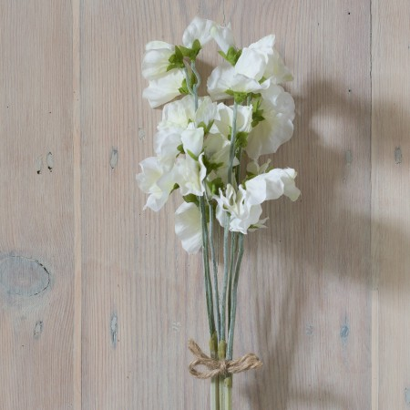 SILK WHITE SWEET PEA BUNDLE