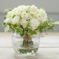 wild-rose-ivy-posy-with-vintage-vase