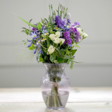 lilac haze flower bouquet