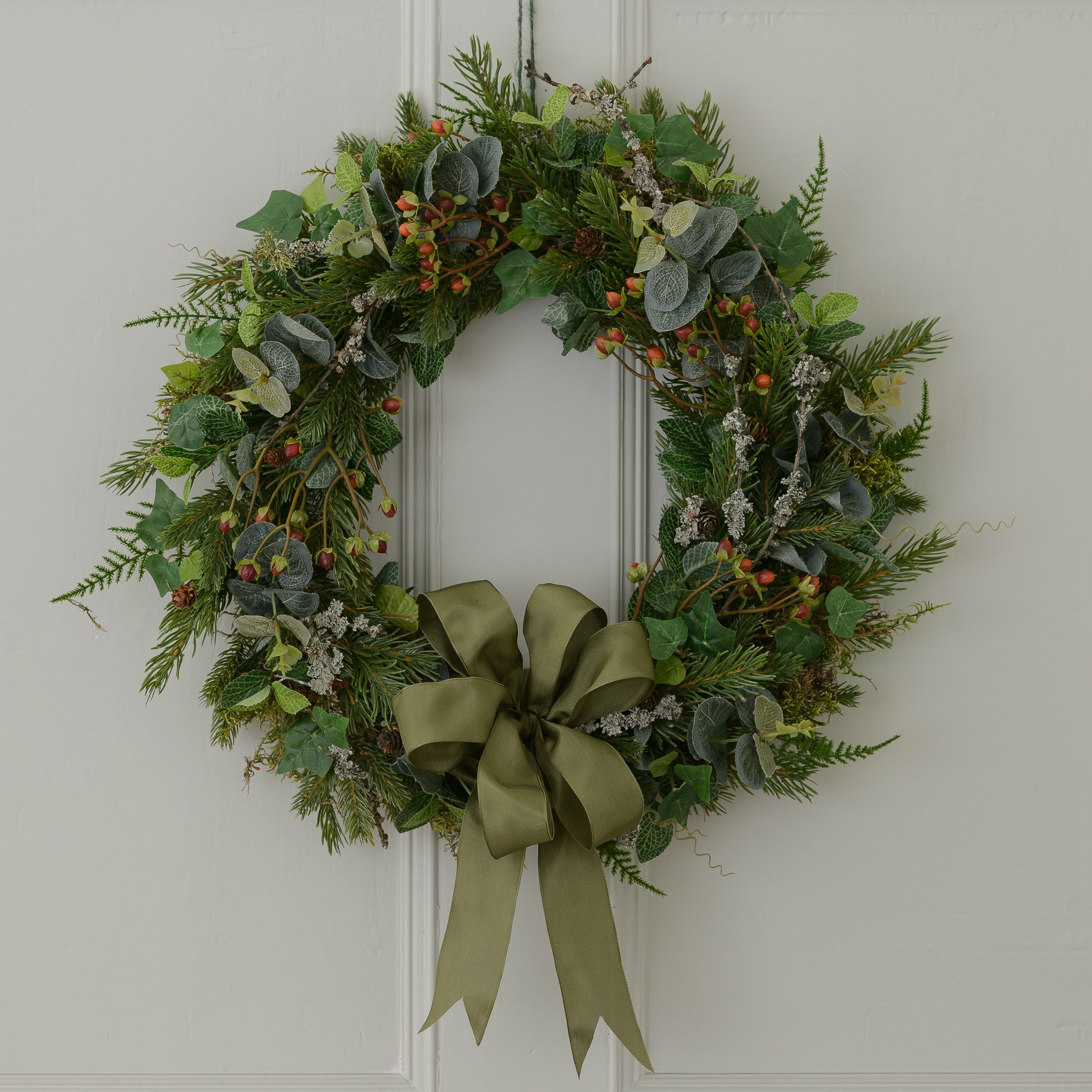 Luxury Fresh Christmas Door Wreaths Christmas Wreaths