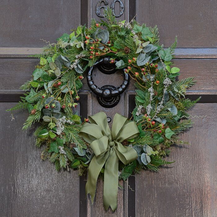 HIGHLAND CHRISTMAS WREATH