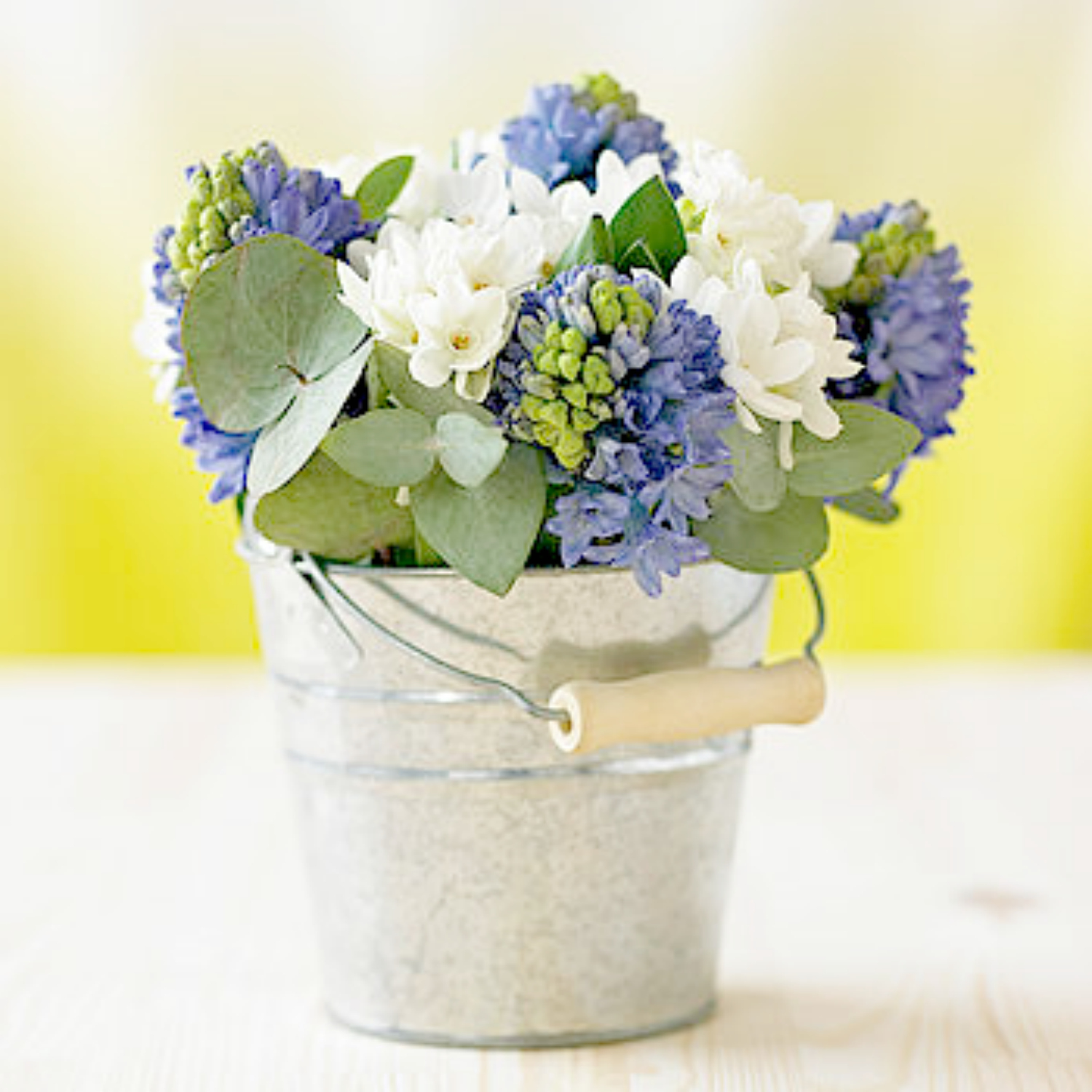 Subscription 3 month bloom bucket gift flower studio shop for Bucket of flowers papercrafting
