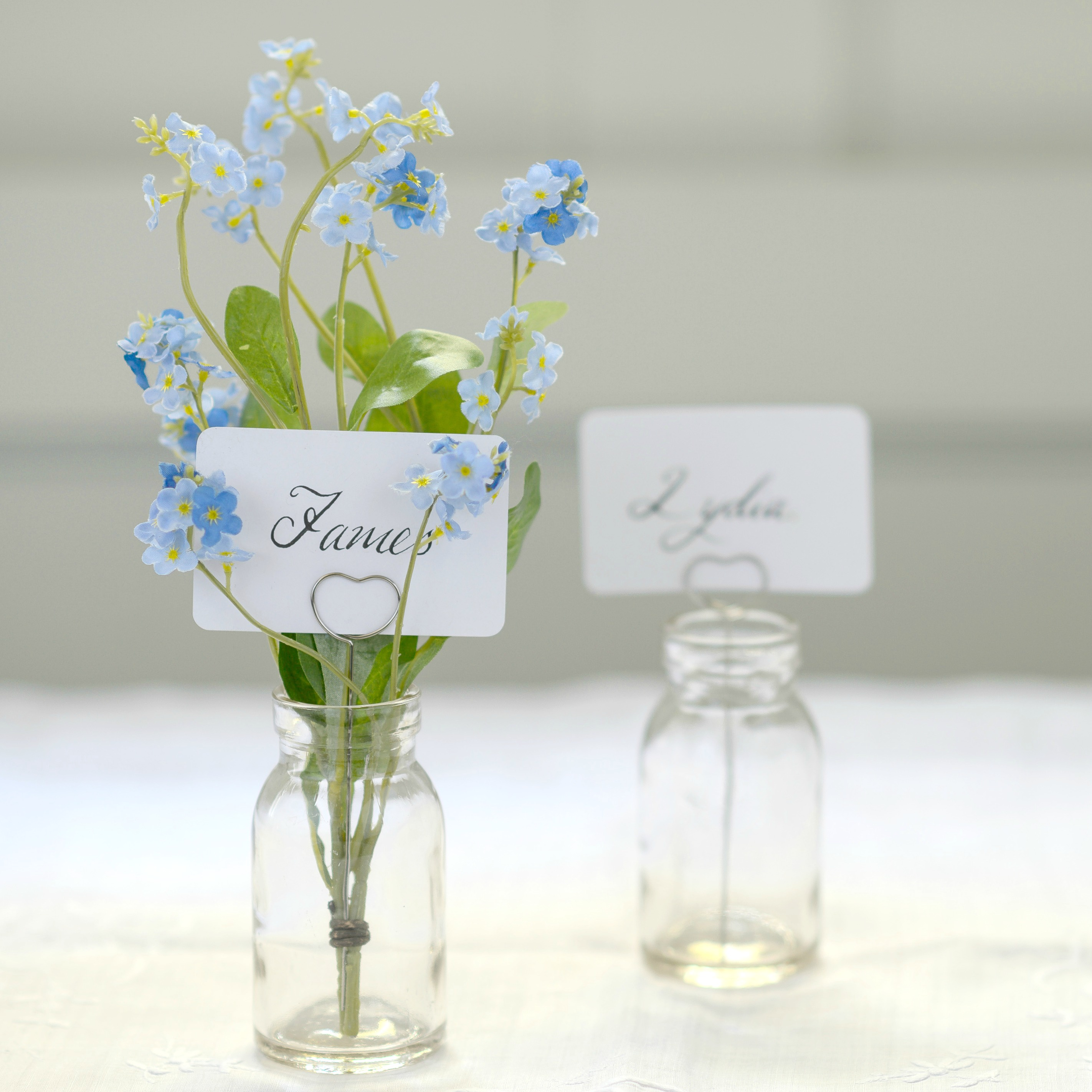 The Woodland Log Place Name Setting Set Flower Studio Shop