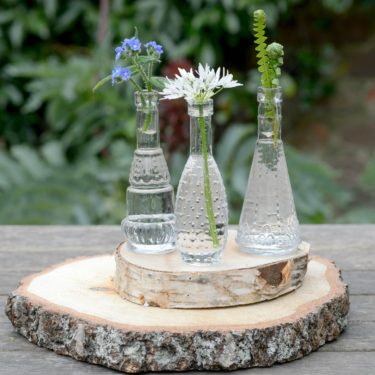 SET OF 3 MINI VASES