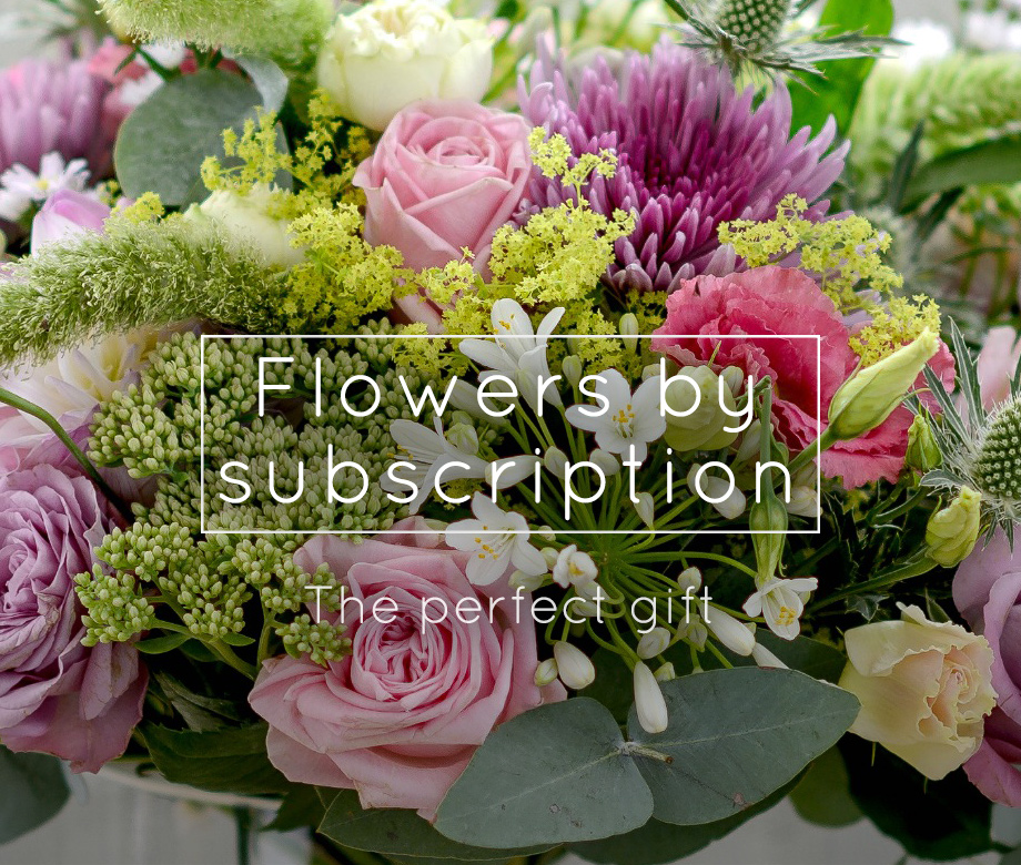 Flowers by subscription