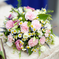 Daisy Meadow Bride Bouquet