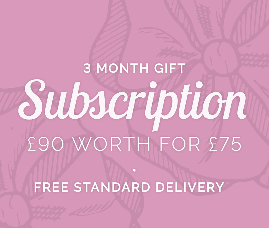 Subscriptions from The Flower Studio