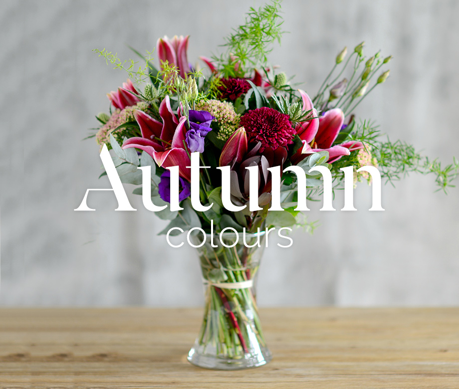 Autumn flower bouquets from The Flower Studio Marlow