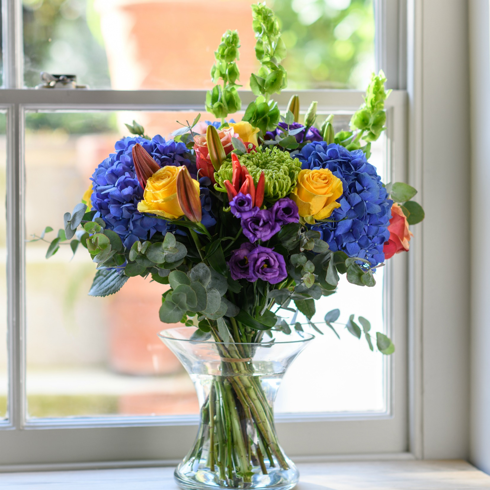 Bourgeois * Blue Sky Days Bouquet | Flower Studio Shop
