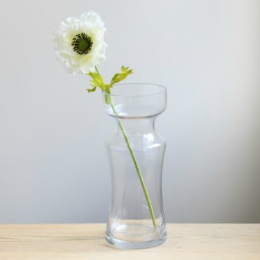 SHAPED GLASS VASE