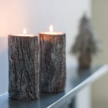 WOODLAND BARK CANDLE