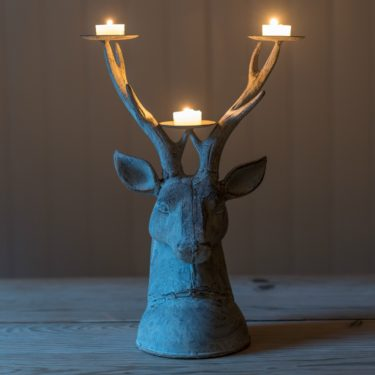 grand stag candle holder