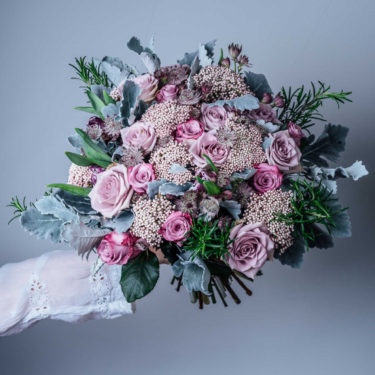 new romantic flower bouquet