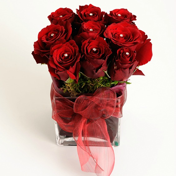 DIAMONDS-ARE-FOREVER-RED-ROSE-CUBE-2