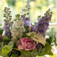 FOR THE BEES & THE BUTTERFLIES SUMMER PEONY & STOCK BOUQUET