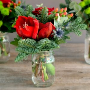 RED-AMARYLLIS-FIR-CHRISTMAS-JAR-TRIO-2