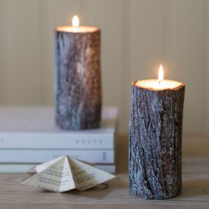 WOODLAND-BIRCH-BARK-EFFECT-CANDLE-1