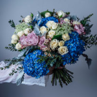 BLUE SKY DAYS LUXURY BOUQUET