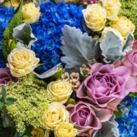 BLUE SKY WHITE CLOUDS LUXURY BOUQUET