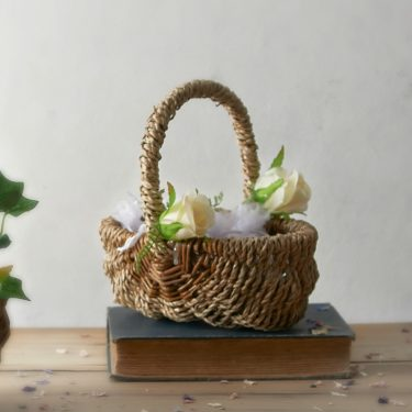 seagrass flower girl basket