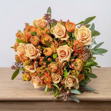 ORANGE ROSE LUXURY BOUQUET