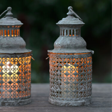 Spanish Garden Lattice Lantern