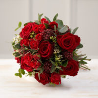 Love Story Luxury Red Rose Flower Posy