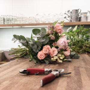 The Flower Studio Working