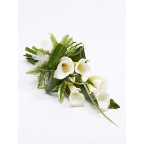 Spray & Sheaf ~ Calla Lily Classic Spray ~ National Delivery