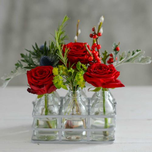 Flower Bottles ~ The Lady Loves Blooms