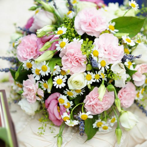 Luxury ~ Fresh As A Daisy Scented Garden Bouquet