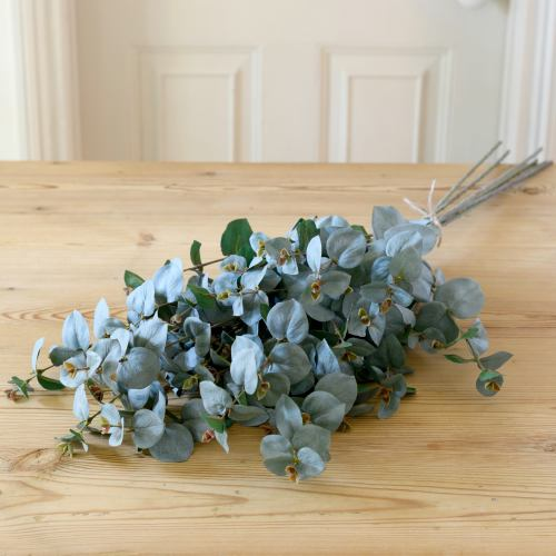 Stem Faux ~ Artificial Bouquet D'Eucalyptus