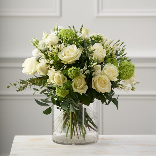 Grand ~ Hollywood Star White Roses