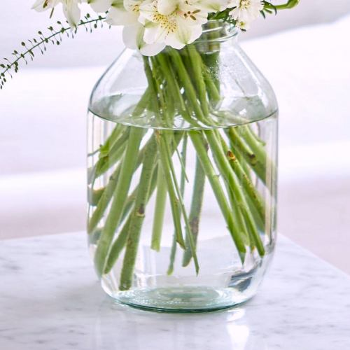 Vase ~ In a Pickle Vintage Glass Flower Jar Vase