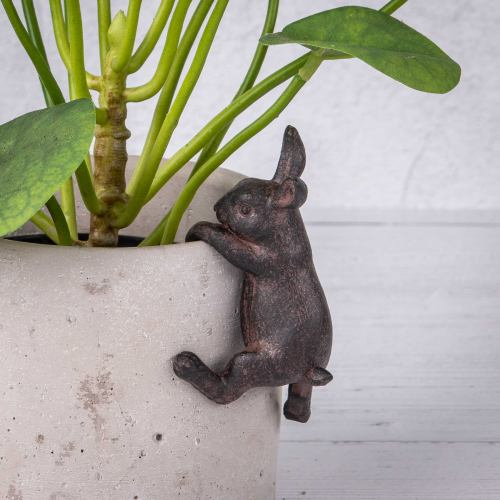 Plant Pot Hanger ~ Little Garden Rabbit Pot Hanger
