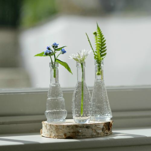 Table Decoration ~ Small Rustic Wooden Slice Centrepiece